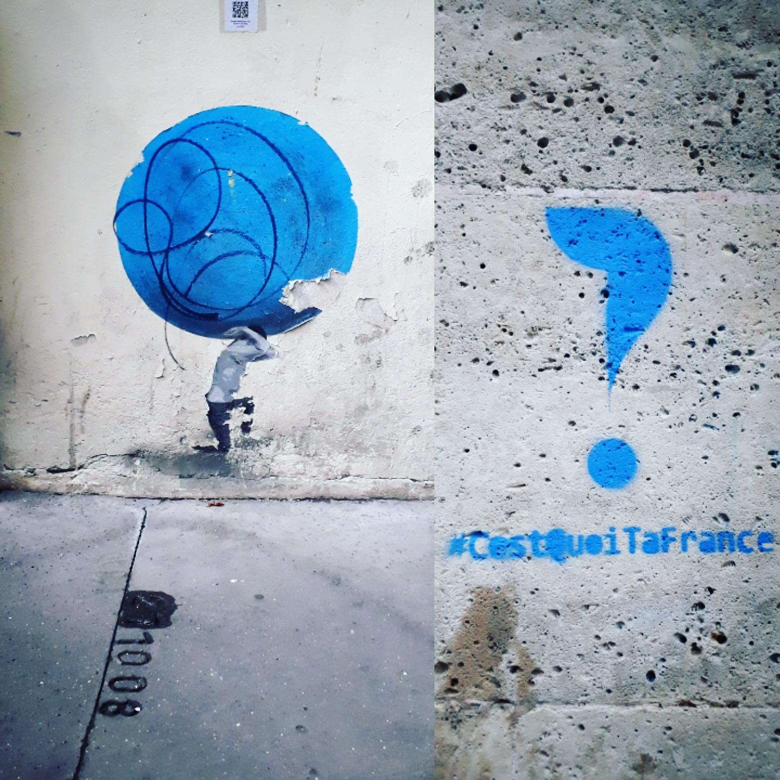 Streetart stencil pochoir
