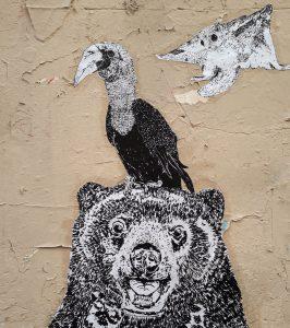 Street art engagé, espèces menacées