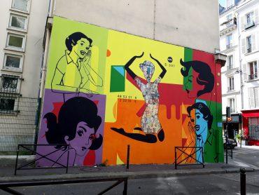 fresque de FKDL street art