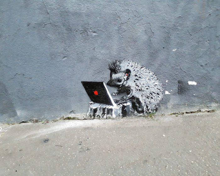 street art herisson