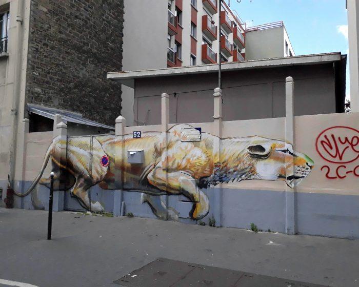 street art puma