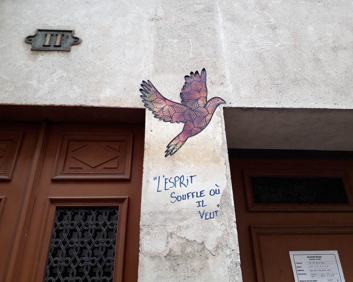Oiseau par l'artiste Ami Imaginaire