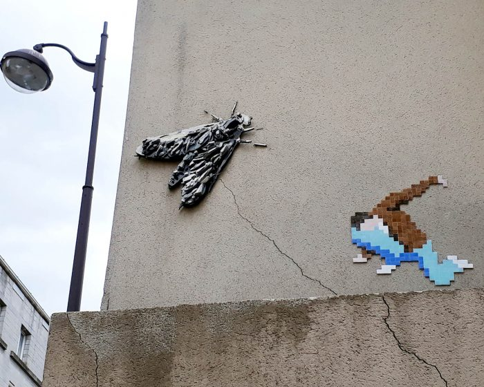 Street art Mosaique