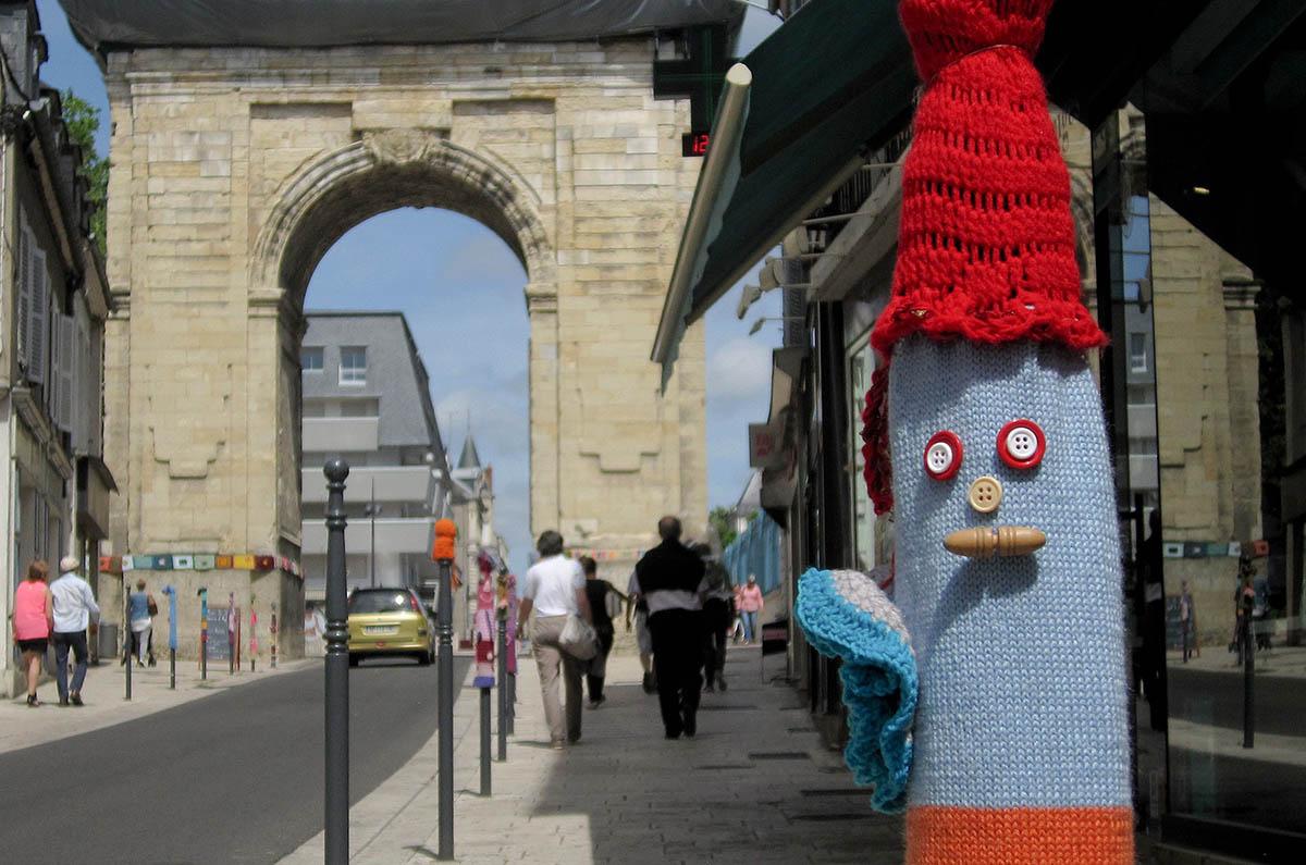Yarn Bombing ou Tricot de rue