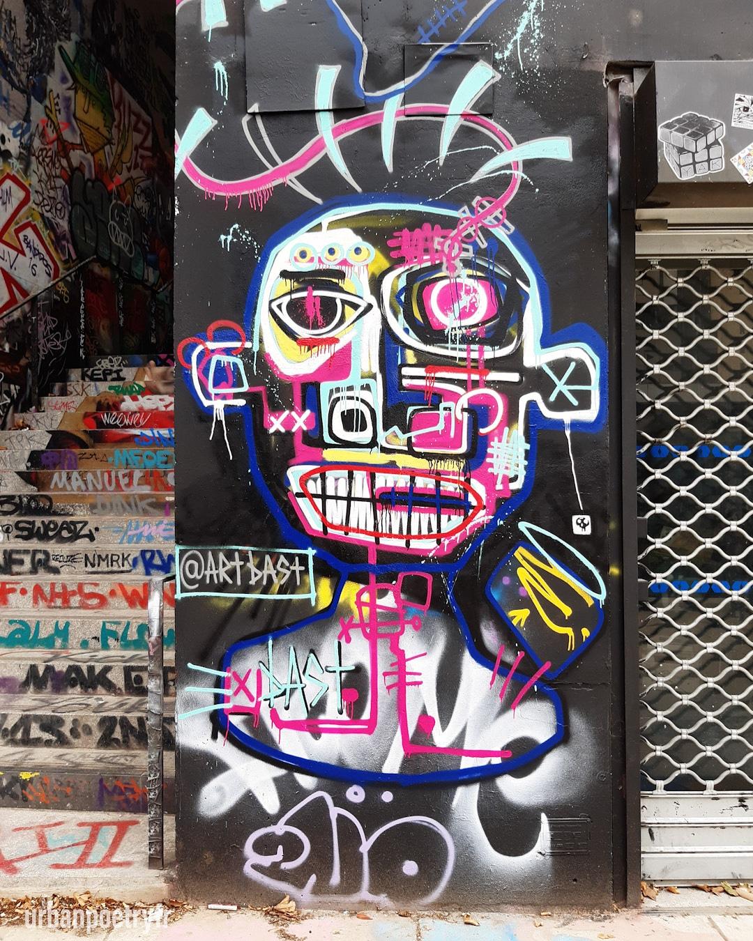 Street art par Artbast