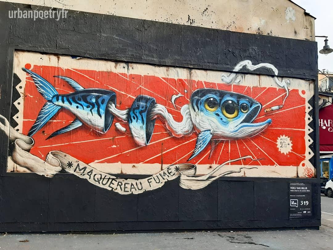 Street art Veks Van Hillik
