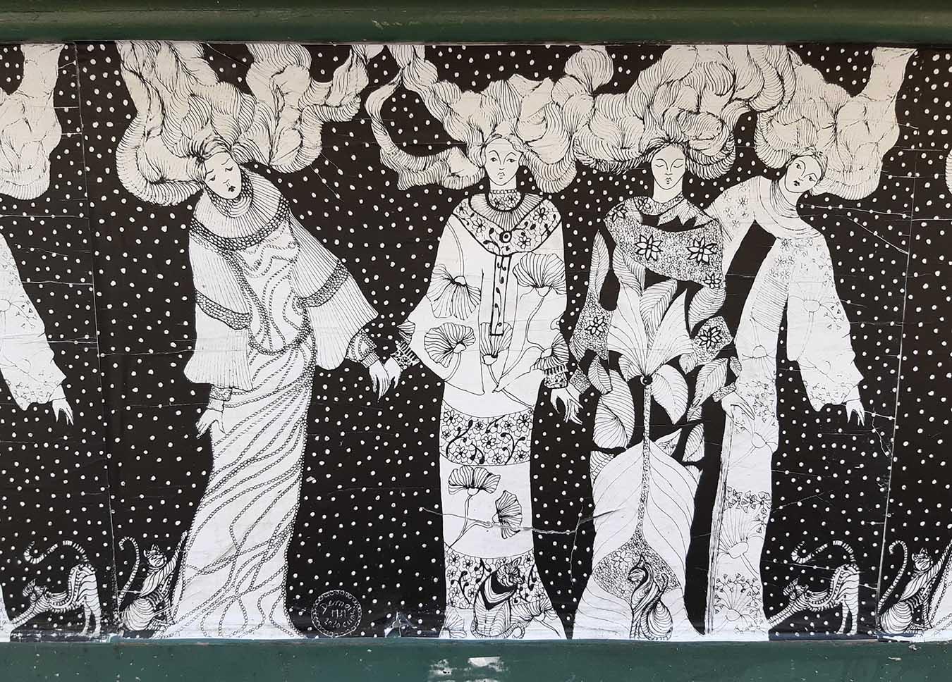 Street art par Demoiselle MM