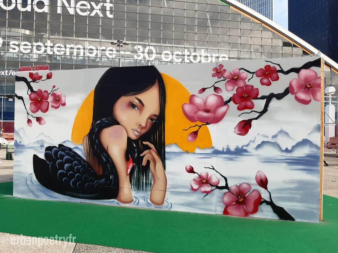 Street art par Anna Conda