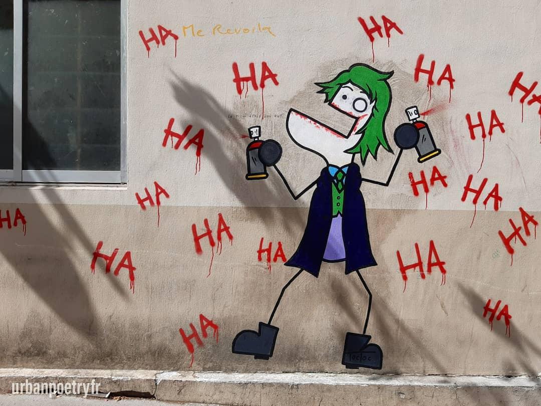 Le Joker par Toctoc