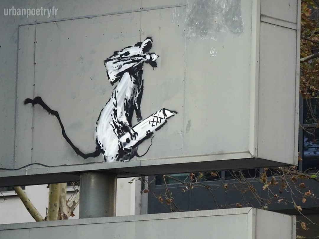 Rat par Banksy