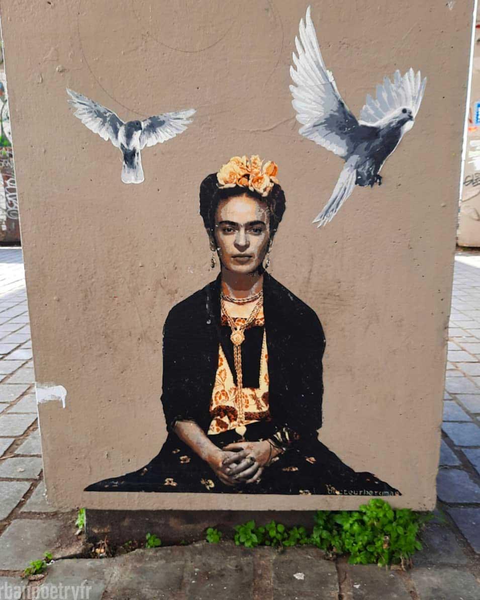Frida Kahlo par Dr Bergman