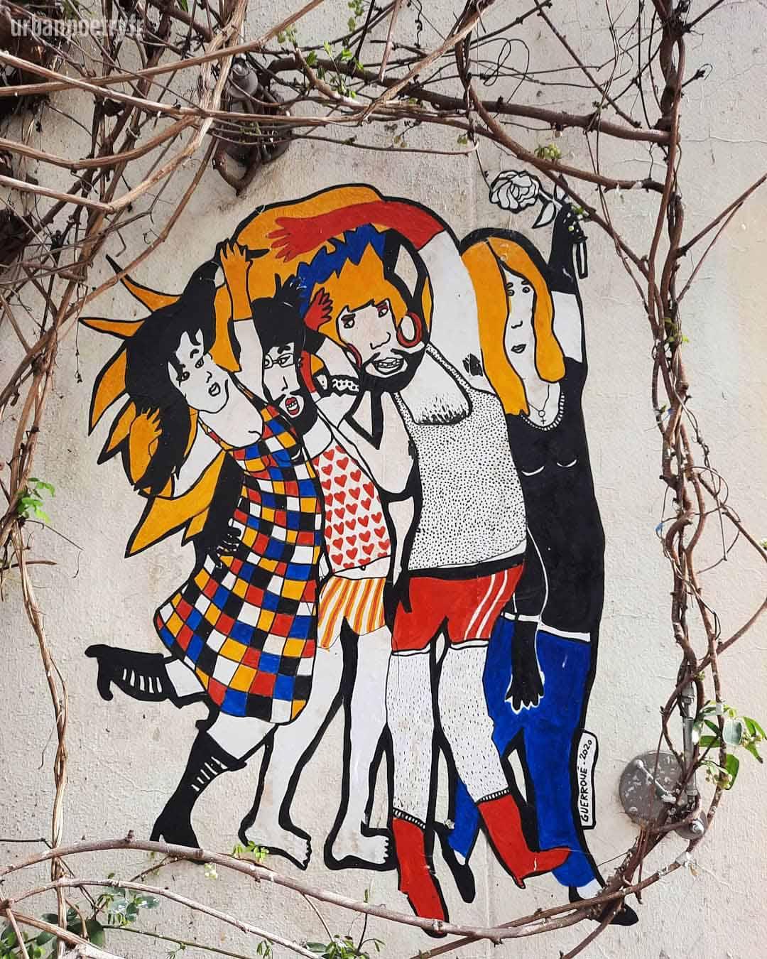 street art par Erwan Guerroue