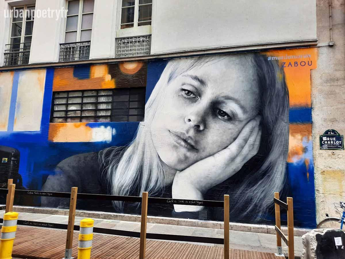 L'ennui par Zabou street art