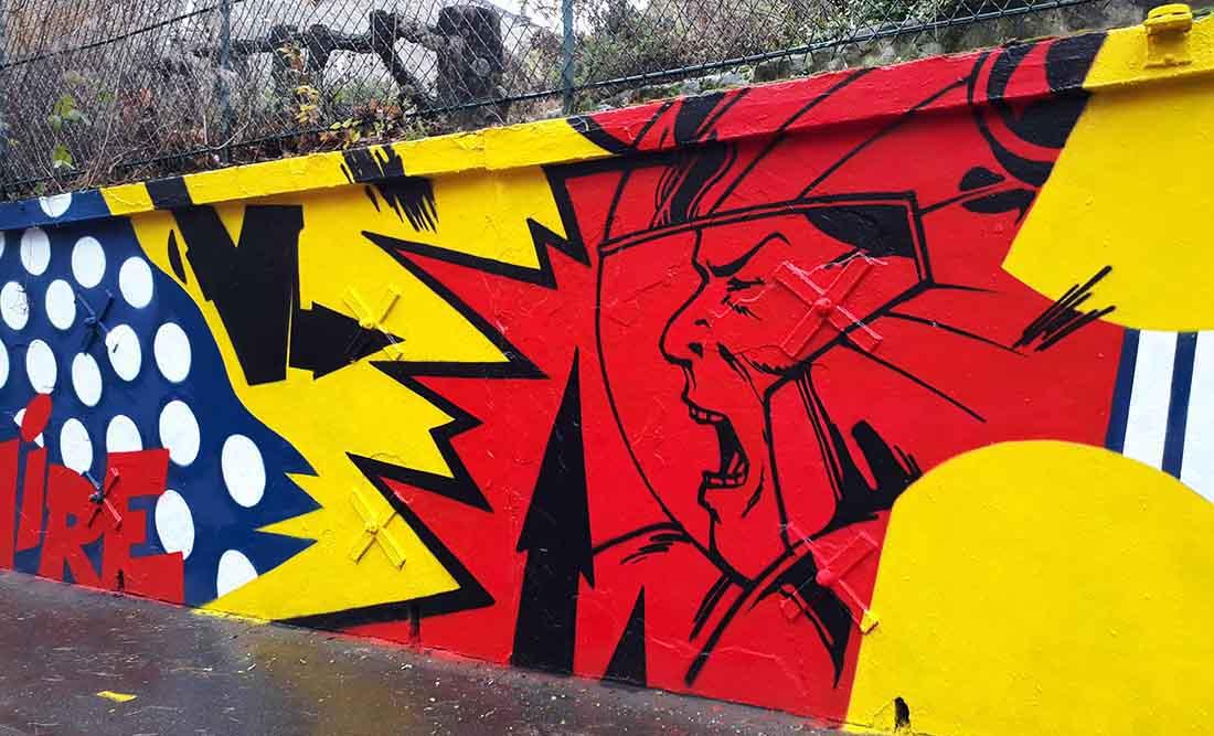 street art by Craze Urban Poetry