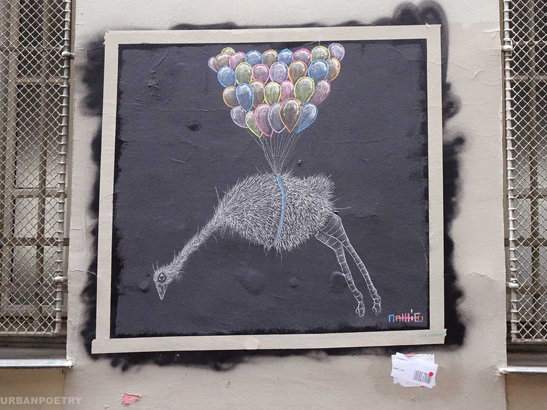 Street art par Matt-Thieu