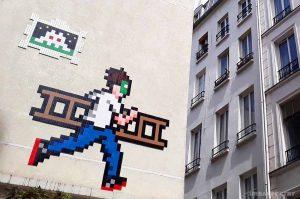street art mosaique