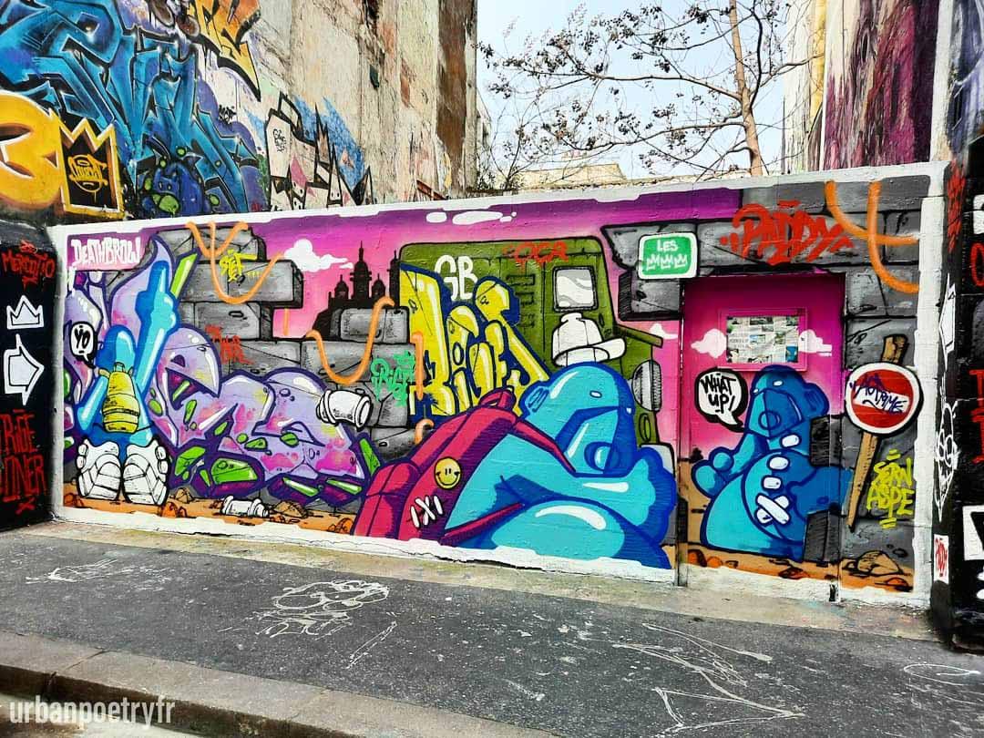 Graff Rige street art