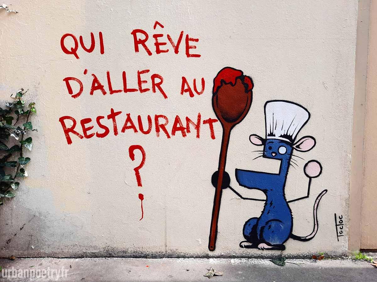 covid et street art par Toctoc