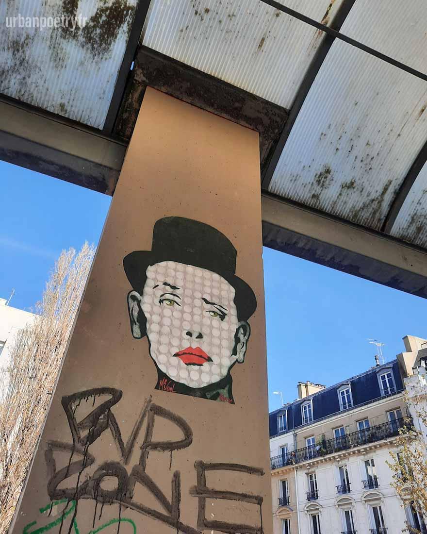 Street art par Mr VOuL