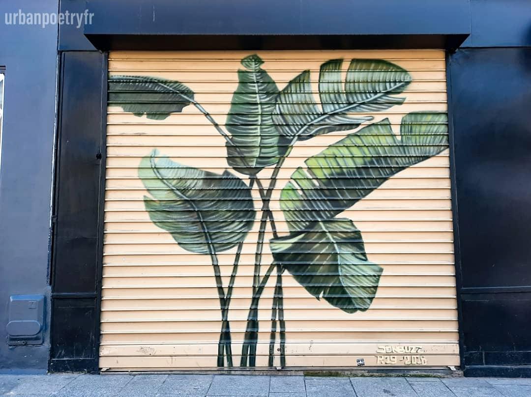 Street art par Jon buzz