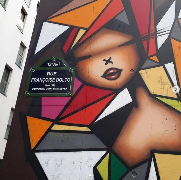 Street art Stoul