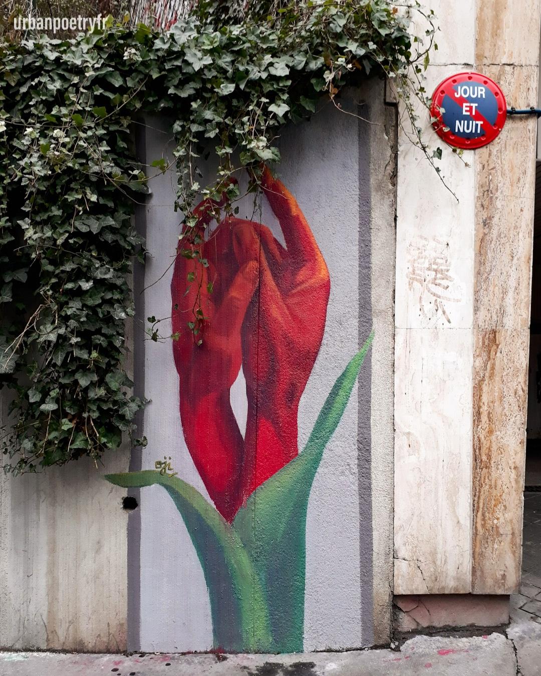 street art by Oji Urban Poetry