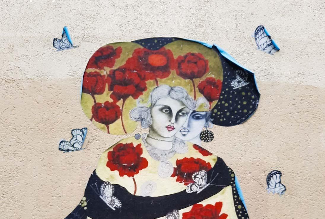 street art demoiselleMM paris urban poetry