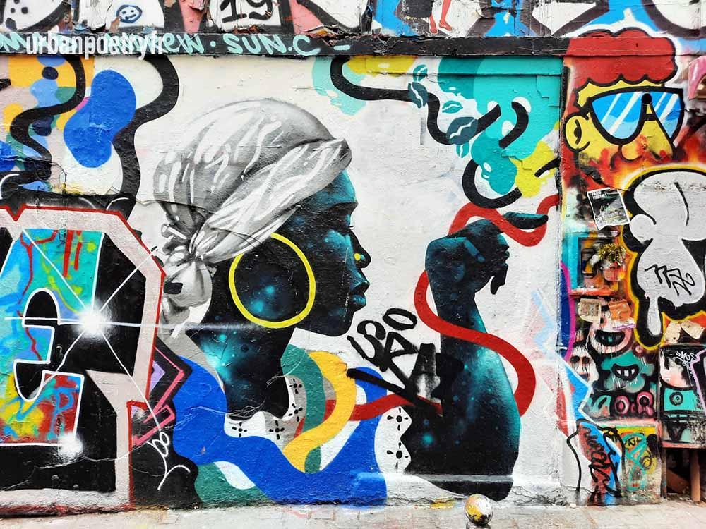street art paris urban poetry