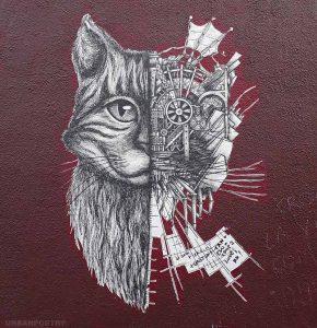 Le chat, star du street art