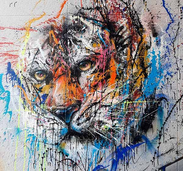 tigre by sax spot 13 paris urban poetry