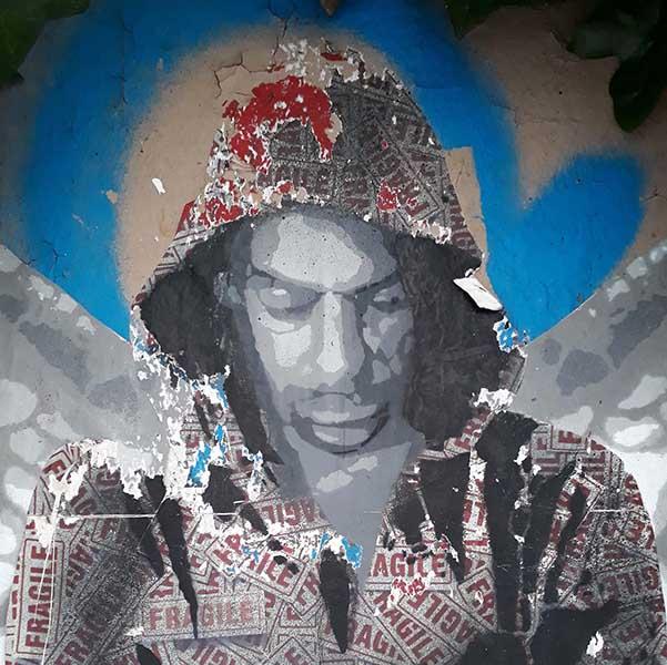 ender artiste fragile street art urban poetry